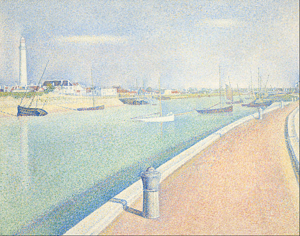 Seurat,_Georges_-_The_Channel_of_Gravelines,_Petit_Fort_Philippe_-_Google_Art_Project