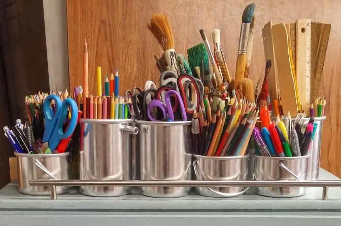 How To Store Your Art Materials Safely