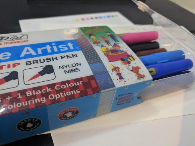 AddGel Little Artist Twin Tip Brush Pens