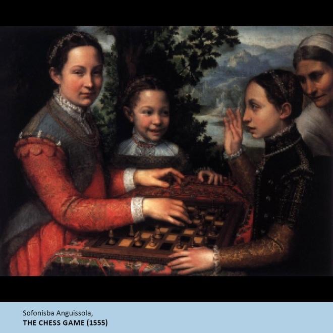 The Chess Game, Sofonisba Anguissola, 1555