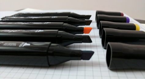 Tinge Markers