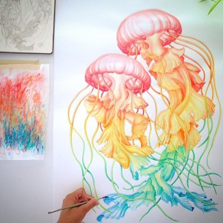 Jellyfish by: Sanjana Baijnath
