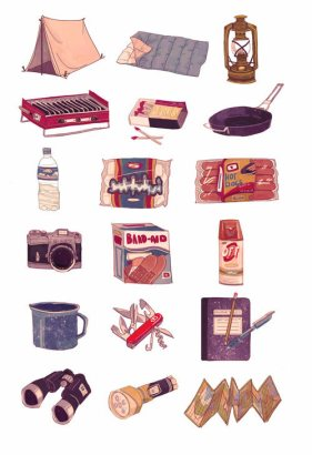 artist_megwitter_art-camping-icons