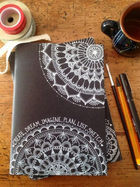 Diy Cover Ideas For Your Journals  Notebooks Or Binders