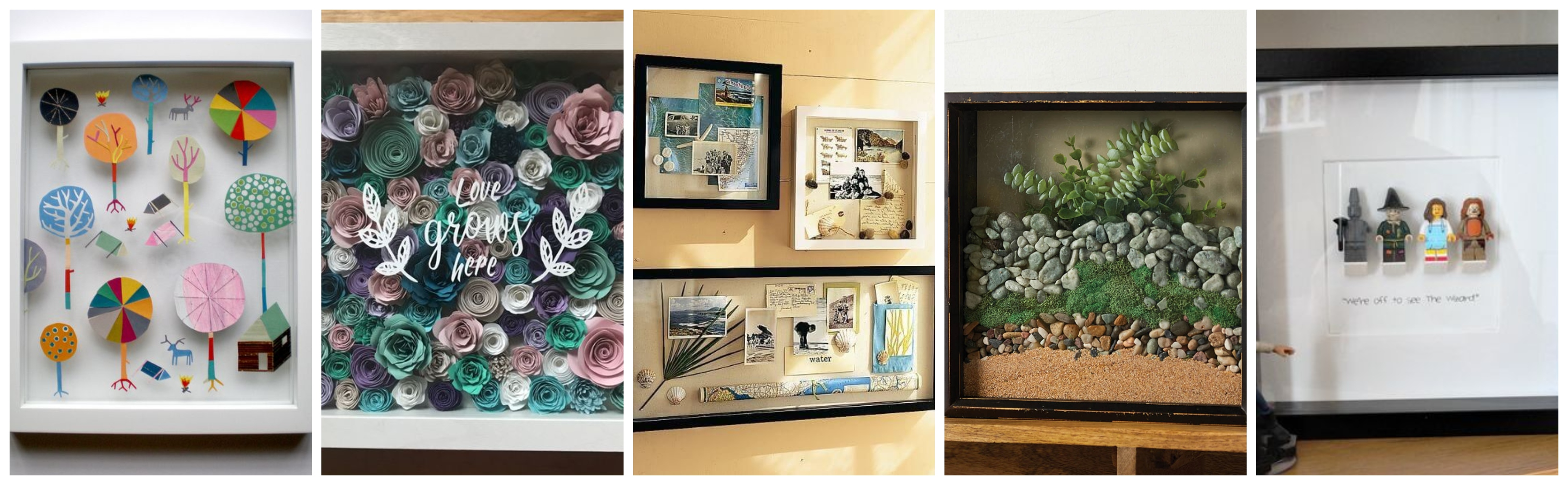 Creative Shadow Box Ideas To Inspire Your Next Project