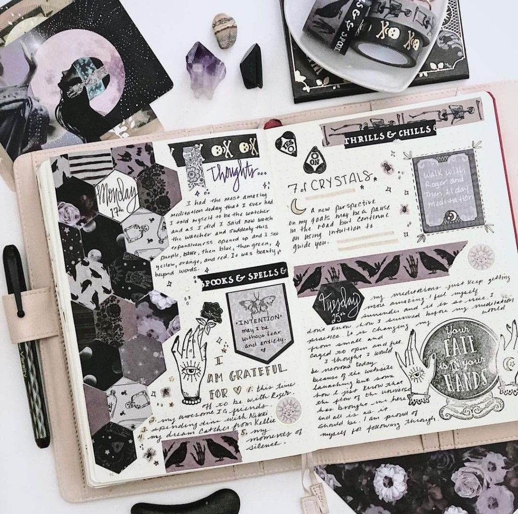 Magical and Astrological Bullet Journal Page Ideas – The Ink ...